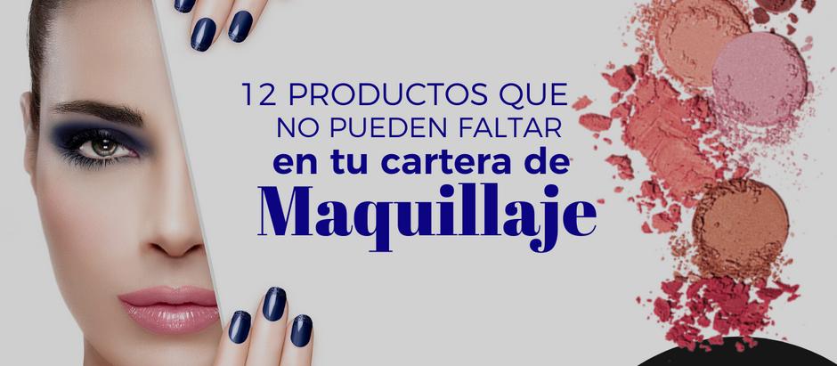 Productos que no pueden faltar en tu cartera de MAQUILLAJE.