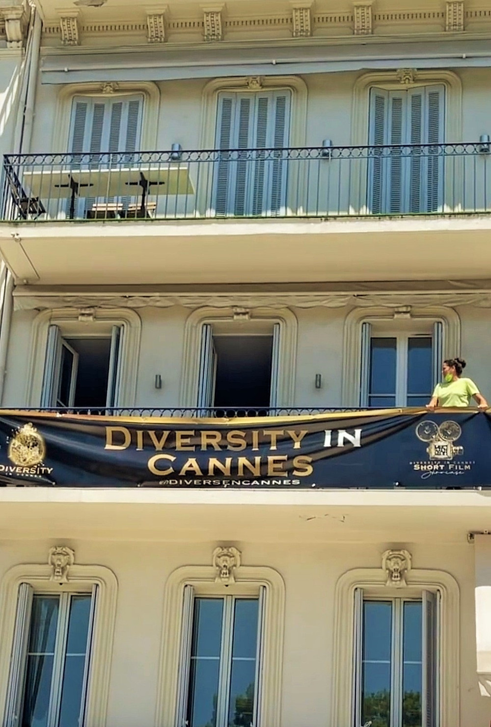 King of Diversity in Cannes