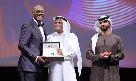 Samuel L. Jackson Honored at Dubai International Film Festival 2016