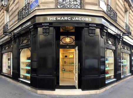 Marc Jacobs: First Boutique In Paris