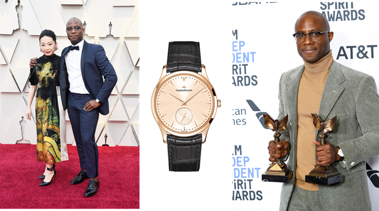 Barry Jenkins in Jaeger-LeCoutre Oscars