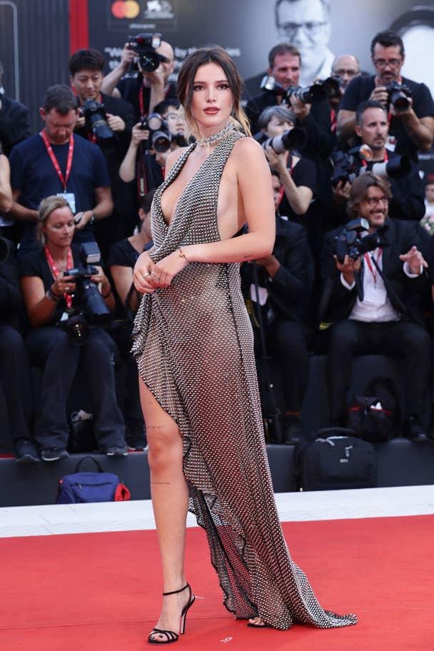 Bella Thorne Venice Film Festival 2019