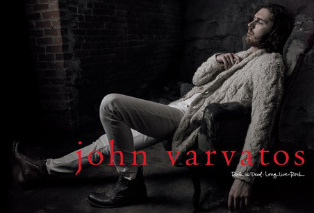 John Varvatos Features Musician Hozier For Fall/Winter 2016