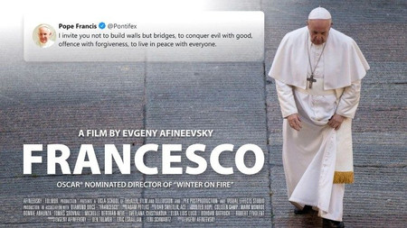 Francesco Documentary: Evgeny Afineevsky's Exclusive Vatican Access