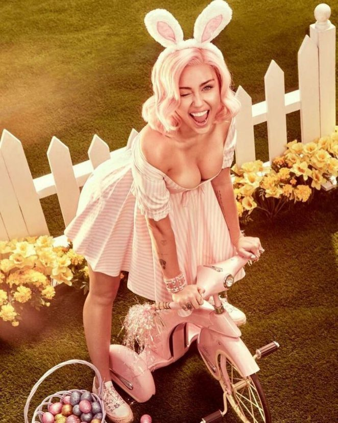 Miley Cyrus for Easter 2018 Photo Shoot