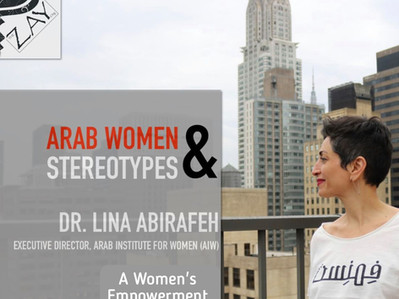Dr. Lina Abirafeh Speaks on Arab Women and Empowerment with The Zay Initiative
