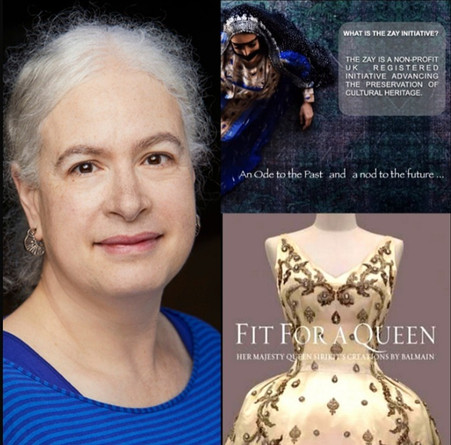 Fit for a Queen: Dialogues on the Art of Arab Fashion with Curator Melissa Leventon