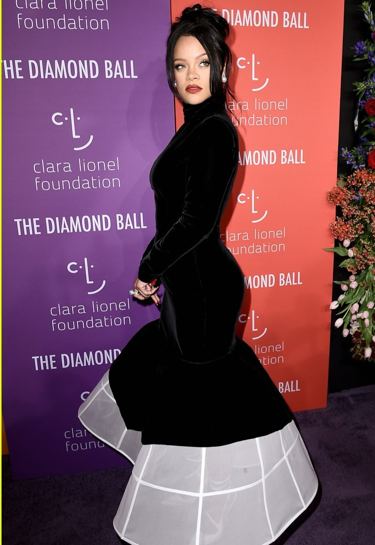 Rihanna at Diamond Ball 2019