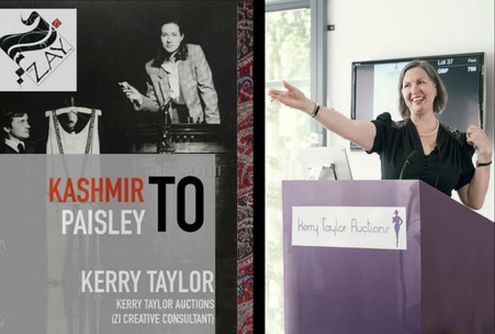 Kerry Taylor on Luxurious Kashmir Shawls for The Zay Initiative Fashion Series