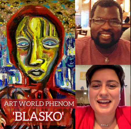 Art World All a Buzz on Blasko