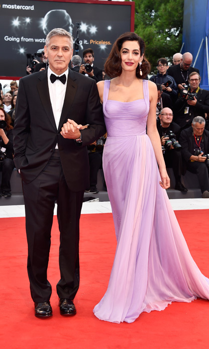 George and Amal Clooney Venice Film Vestival 2017