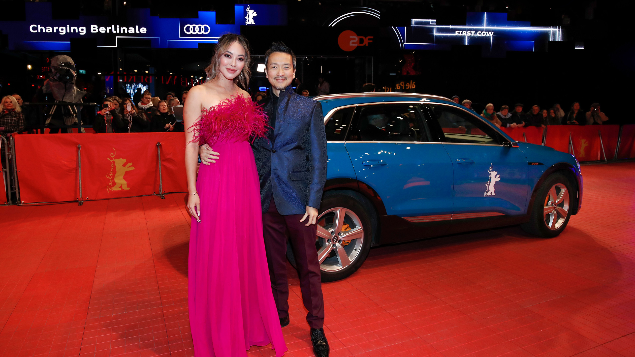 Orion Lee and guest at Berlinale