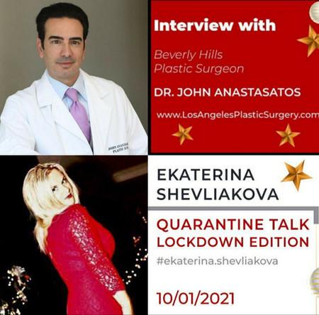 Los Angeles Plastic Surgeon Dr. John Anastasatos Talks Beauty