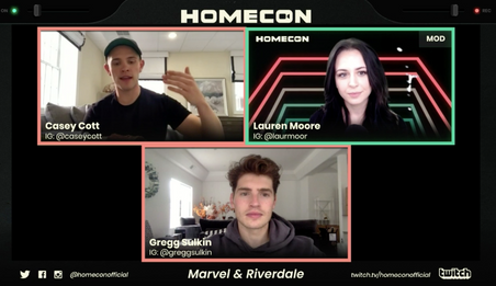 Celebrities Share COVID-19 Feelings with Fans at HomeCon - The First Virtual Fan Convention