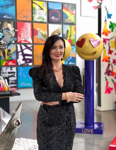 Quarantine Talk with Elena Bulatova Fine Art Gallery