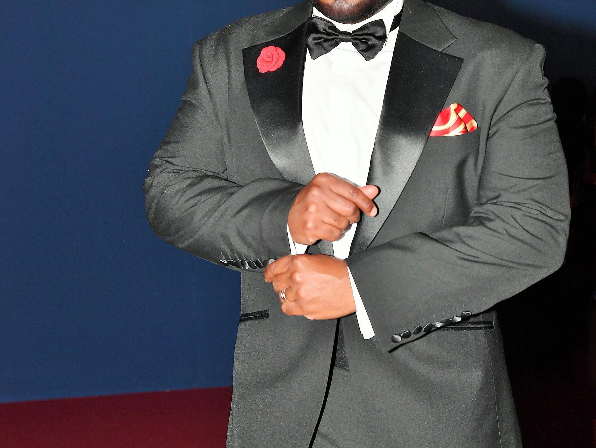 Franklin Eugene at 74th Venice International Film Festival Premiere of Downsizing Movie Festivities