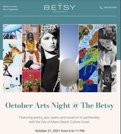 Explore Arts Night at The Betsy Hotel South Beach