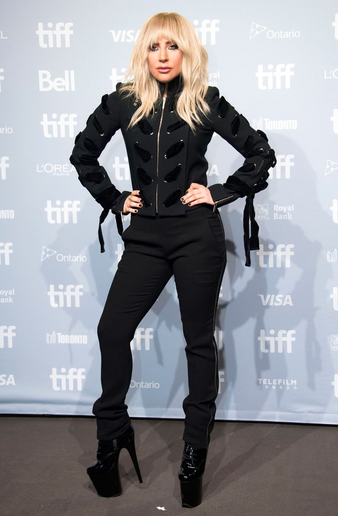 Lady Gaga Toronto Film Festival 2017