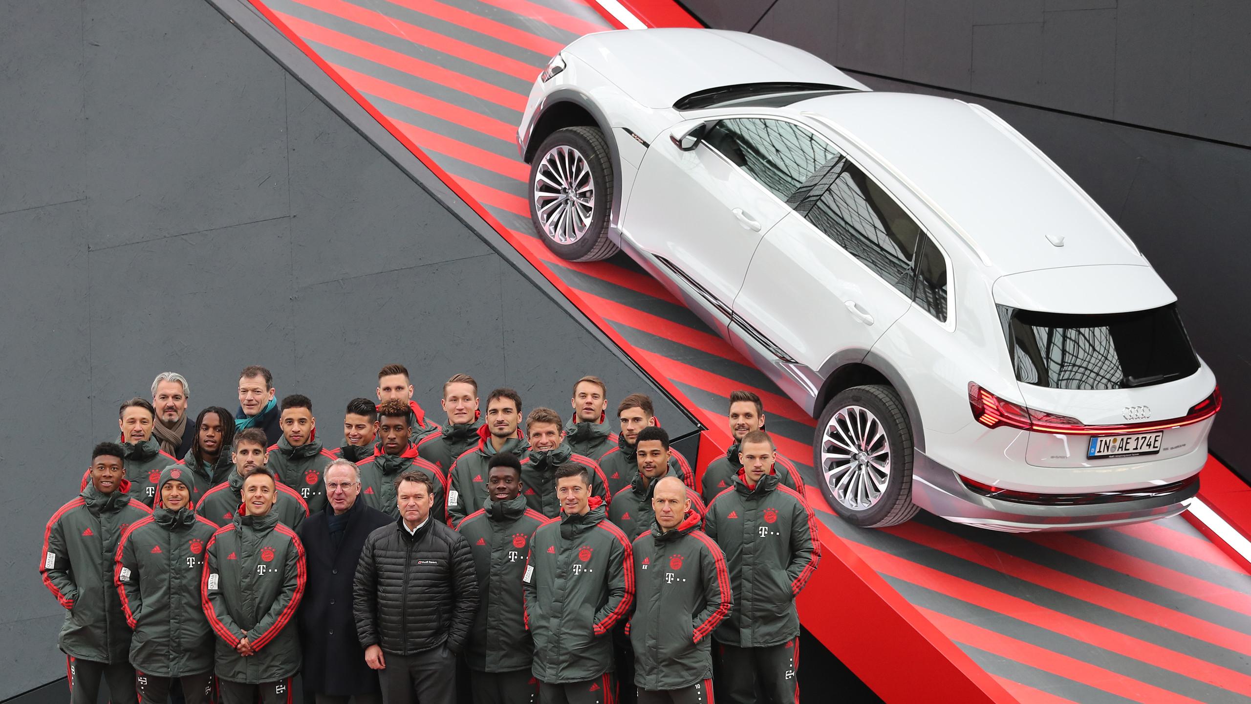 Bayern Meets Audi e-tron