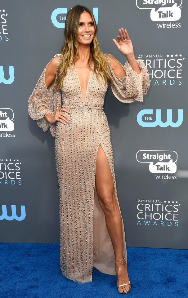 Heidi Klum Choice Awards 2018