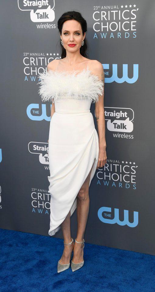 Angelie Jolie Critics Choice 2018