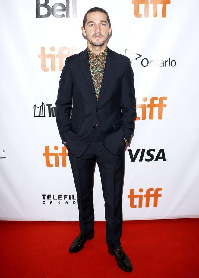 Shia Labouf Toronto Film Festival 2017
