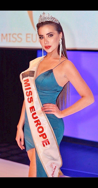 Ljubica Rajkovic Miss Europe