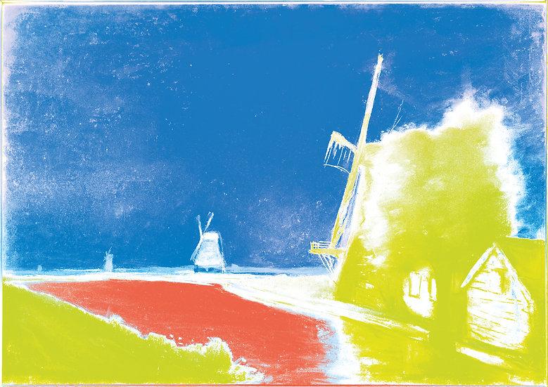 Hazy Windmill