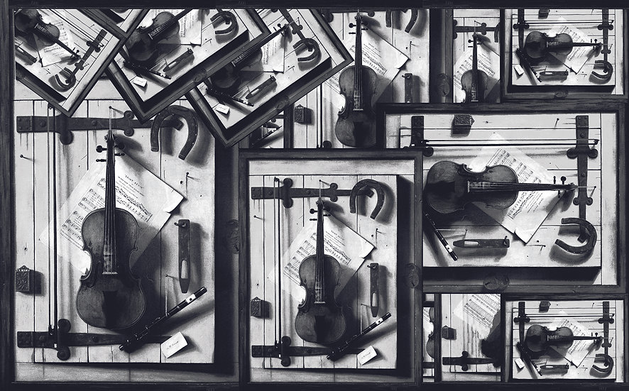 Scattered Instruments - Black & White Edition