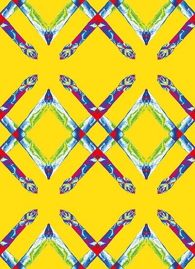 Shocked Asparagus Pattern II