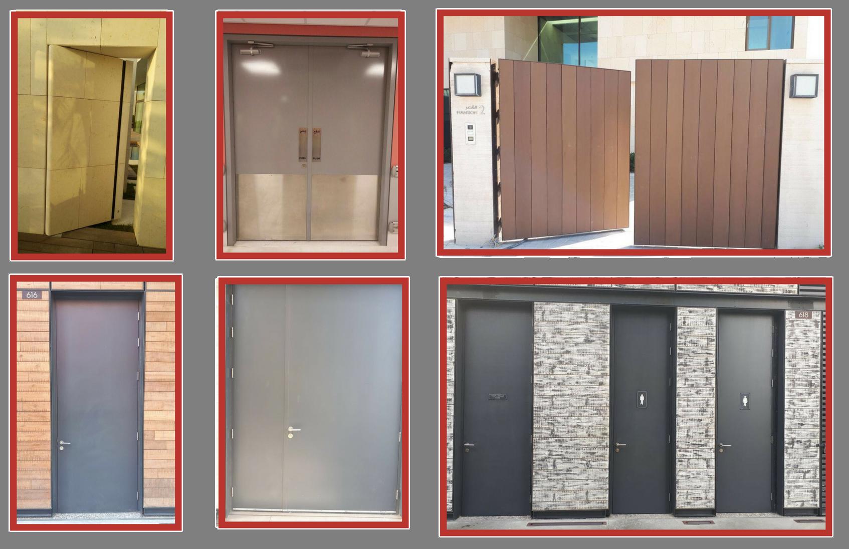 Fire Doors Uae | Metal Craft Industries LLC | Dubai