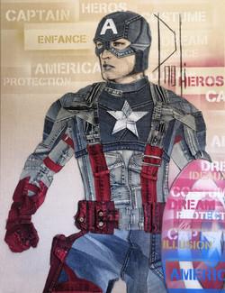 Captain America - PAOLI JeansART