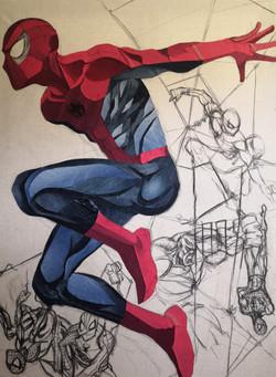 Spiderman - Artiste Paoli JeansART
