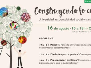 """Seminario """"Construyendo lo común. Universidad, responsabilidad social y transdisciplina"""""""