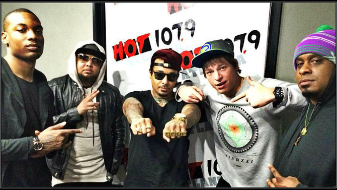 Hot 107.9 Atlanta radio interviews Atlanatas' white rapper Tom P