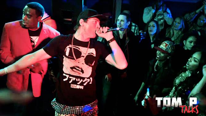 MTV Hip Hop Hustlers Stars Local Atlanta White Rapper, Tom P, Behind the Scenes Look | Tom P Talks |