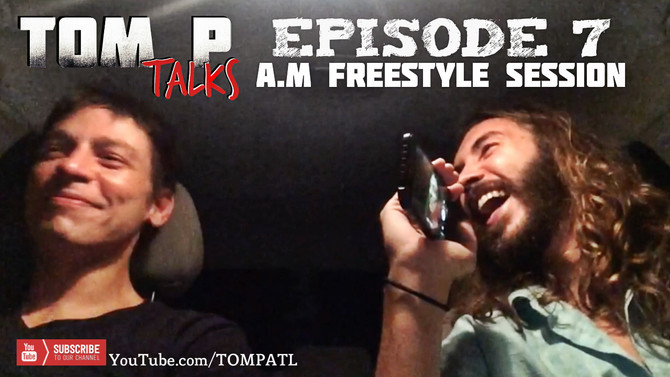 White Atlanta Rapper, Tom P, Kills Freestyle Rap | Tom P Talks | Episode 7