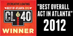 Tom P Atlanta rapper winner of Creative Loafing Best Overall Act in Atlanta 2012