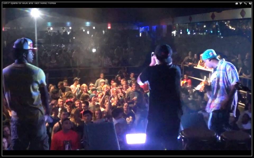 Atlanta rapper Tom P on tour with Techn9ne in Florida