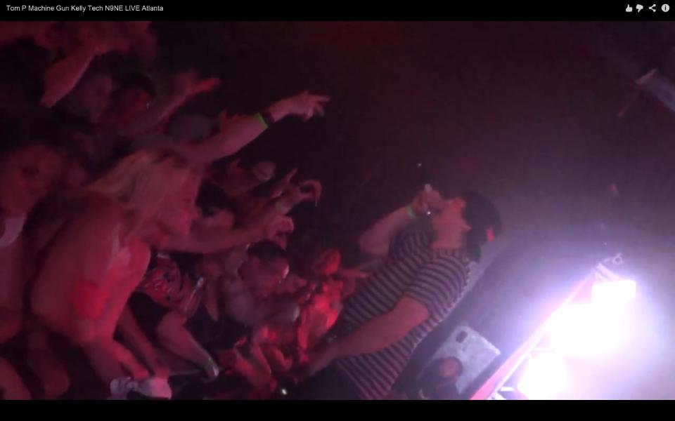 Atlanta rapper Tom P on Techn9ne Tour in Atlanta