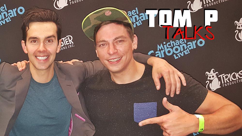 Michael Carbonaro and Tom P in Atlanta