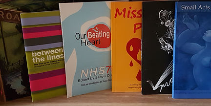 Books featuring poetry and prose by Jo Weston