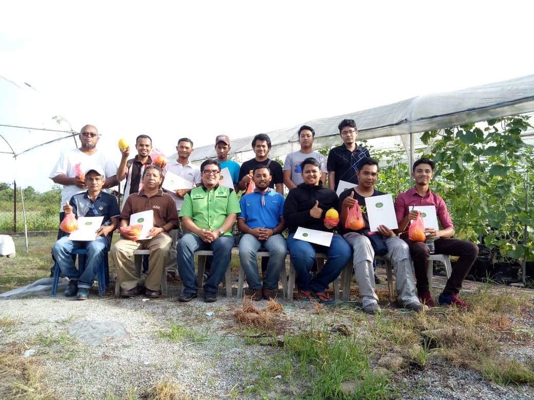 Kursus Fertigasi tanaman cili &melon