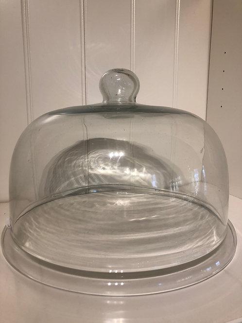 Glasklokke til lagkage