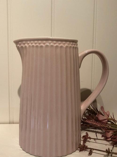 Jug alice pale pink