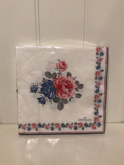 Paper napkin halley white