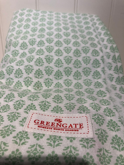 Table cloth ashley green