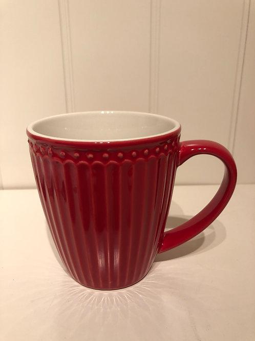 Mug alice red