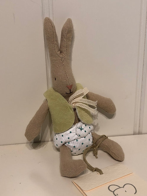 Micro rabbit med vest