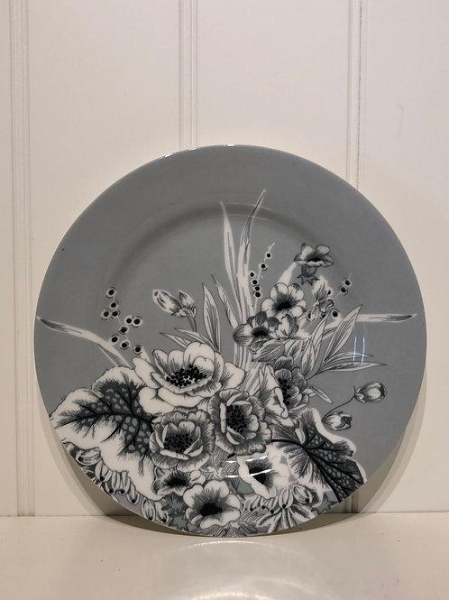 Plate felicity grey